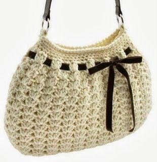 mejor selección nuevo concepto nueva lanzamiento Patrones Crochet: Bolso y Funda de Gafas de Crochet ...