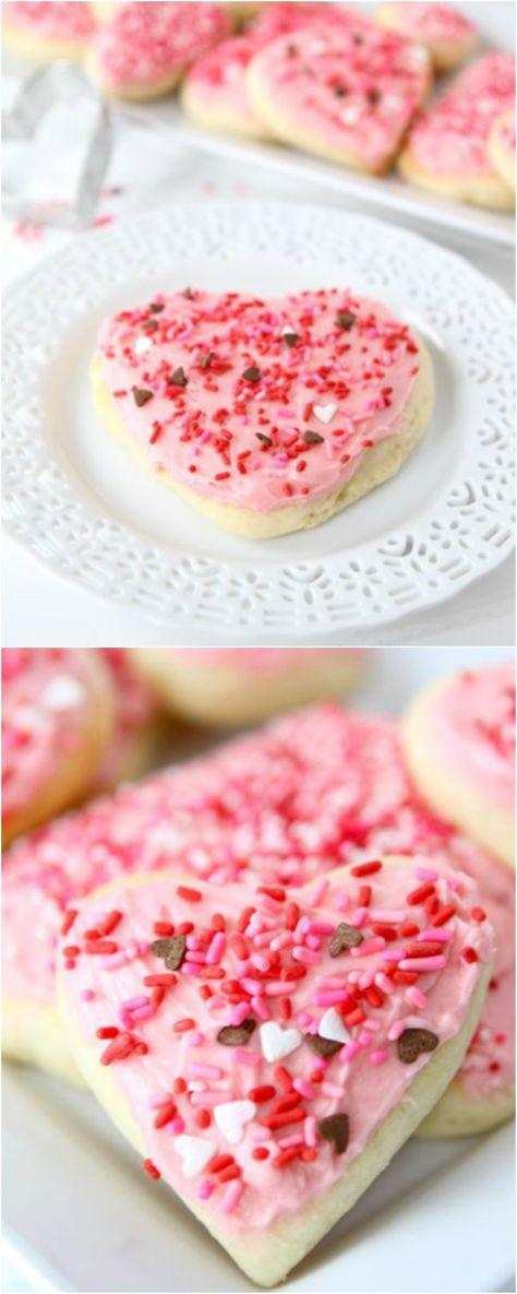 Lofthouse Style Soft Sugar Cookie Recipe on twopeasandtheirpod.com The BEST sugar cookie recipe!