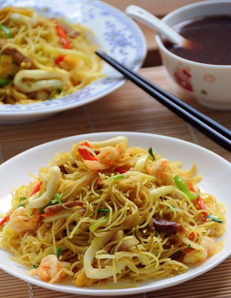 Singapore Chow Mei Fun Singapore Chow Mei Fun Recipe Chow Mei