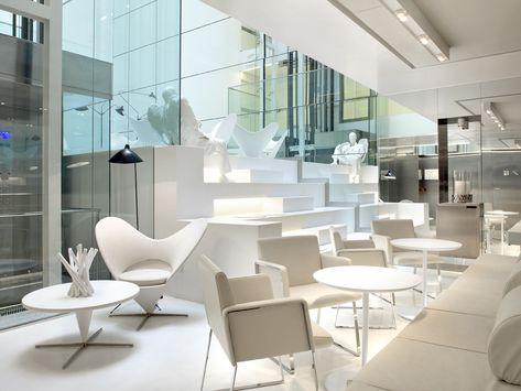 Hôtel Mirror Barcelone - Blanc design décoration intérieure ...