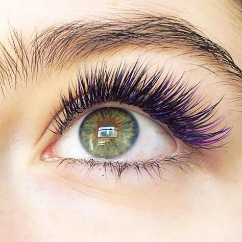 83cb0453026 Mermaid Eyelash Extensions Are Here Just in Time for Halloween via Brit Co