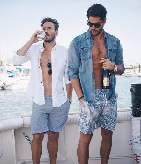 55 Best Summer Fashion Beach Outfit for Mens