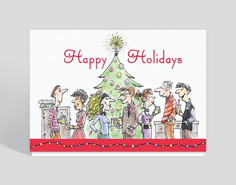 Holiday Party Greeting Card Business