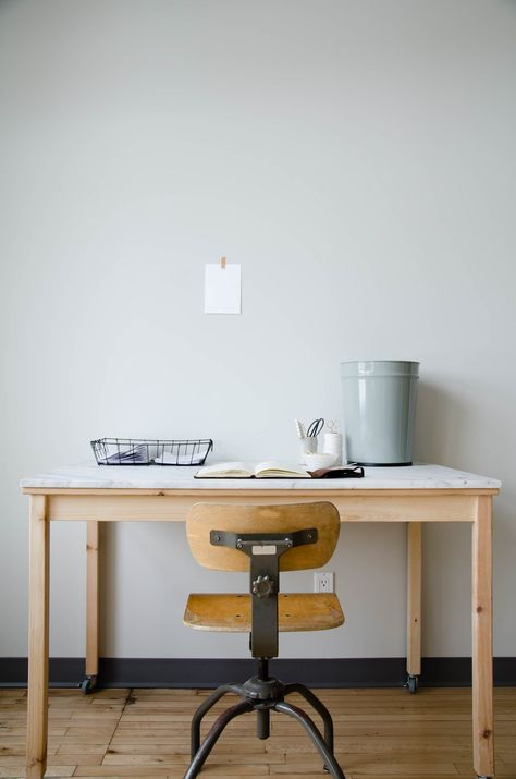 Ikea Tavoli Di Vetro.Ikea Hack Ingo Table With Custom Marble Tabletop And Casters