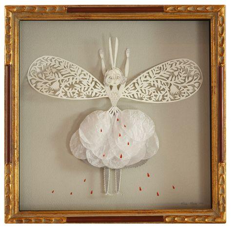 """Paper Cut """"Visionary"""" #PaperCut  #PaperArt  #Art"""