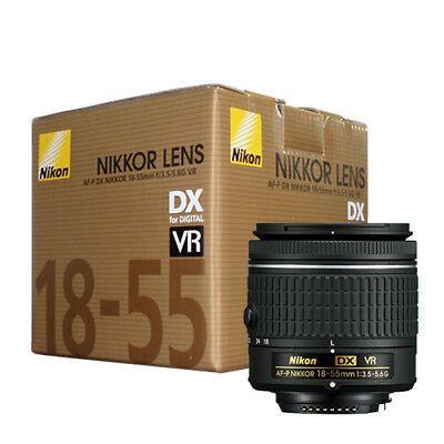Nikon 18 55mm F 3 5 5 6g Vr Af P Dx Nikkor Zoom Lens Original Box Ebay Zoom Lens Nikon Lens