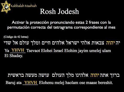 Rosh Jodesh Rosh Jodesh Hebreo ראש חודש Cabeza De Mes Comienzo De Mes Es El Nombre Para El Primer Día De Cada Mes En El Calendar Kabbalah Torah God Jesus