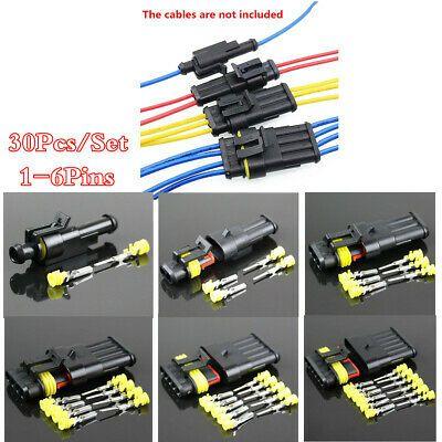100Pcs Heat Shrink Solder Sleeve Butt Splice Wire Connector Waterproof ER