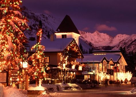 Cozy up near the slopes in Vail, Colorado for the holidays