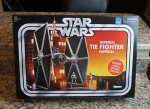 Imperial TIE Fighter Star Wars The Vintage Collection WALMART EXCLUSIVE W pilote