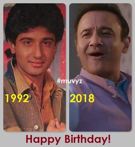 #HappyBirthday #VivekMushran #BollywoodFlashback #90s #NowAndThen #muvyz080918 #instapic #instagood #instadaily #muvyz