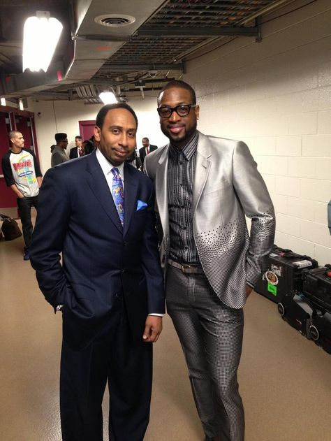 Twitter / ESPN_FirstTake: Some high level suit game here