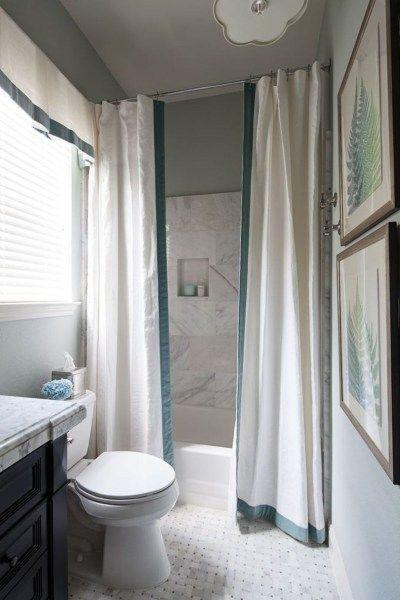 20 Ausgefallene Duschvorhang Ideen Zwei Duschvorhange Badezimmer Dekor Wohnung Badezimmer Dekoration