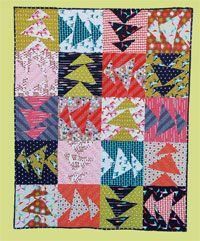Monkey Business Quilt Pattern by Abbey Lane Quilts at KayeWood.com. You will never have so much fun with 20 fat quarters. MONKEY BUSINESS plays around with 20 blocks we like to call Drunk Flying Geese. Fun, Fast and so many fabric possibilities. Really easy to make bigger or smaller. It just makes you smile. http://www.kayewood.com/item/Monkey_Business_Quilt_Pattern/3779 $10.00