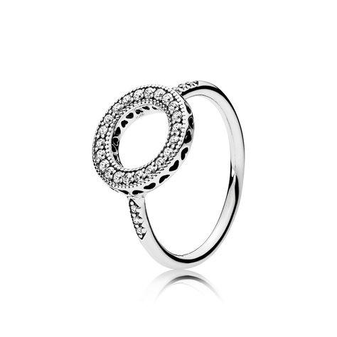 anello cuori forever pandora