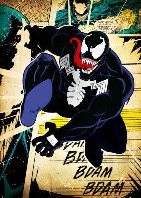 Marvel posters, Venom comics