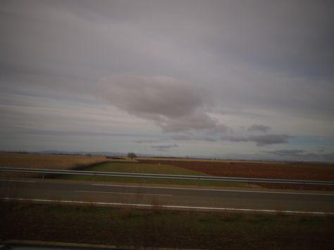 カスティージャ・イ・レオン州の穀倉地帯Castilla y León