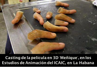 CAsT0r JABAo: Casting de MEÑIQUE, primer largometraje en 3D hecho en #Cuba