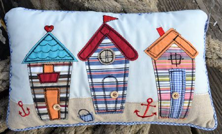 A day at the beach on pinterest beach cottages for Beach hut decoration ideas