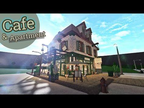 (3070) Cafe  Apartment   House Build   Bloxburg Roblox - YouTube