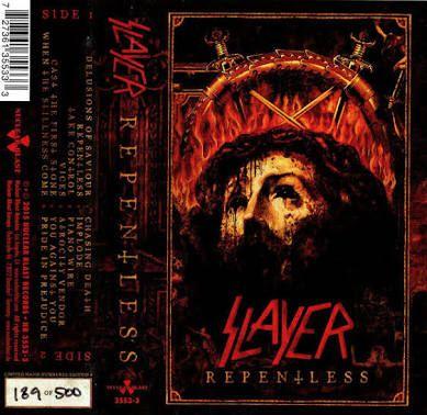 Slayer Repentless Black Textile Flag