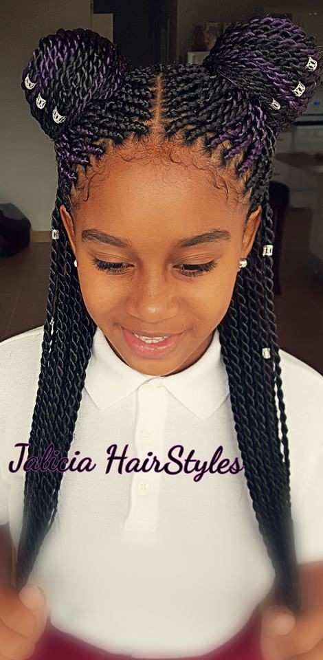Black Hairstyles For 10 Year Old
