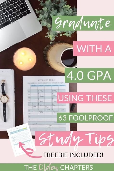63 Foolproof Study Tips to Ace Your Exams