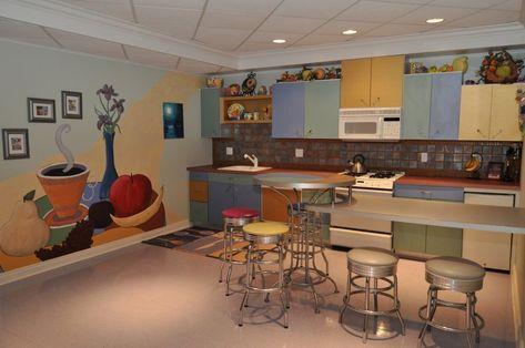 Small kitchen color scheme