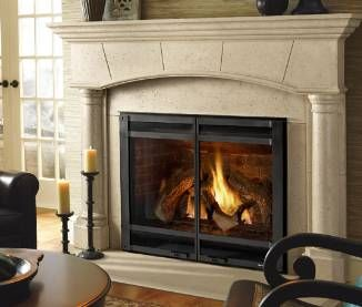 Wood Stove By Jotul Transitional House Hearth Patio Home