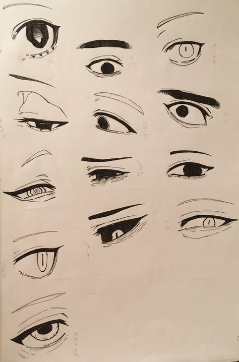 Anatomy Sketches, Art Drawings Sketches Simple, Drawing Face Expressions, Digital Art Tutorial, Anime Eyes Drawing, Girl Eyes Drawing, How To Draw Anime Eyes, Smile Drawing, Mouth Drawing