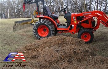 Pine Needle Rakes Pine Straw Rakes Prepare Pine Needles For Baling With The Everything Attachments Pine Needle Rake 72 Length Pine Needles Rake Steel Frame Construction