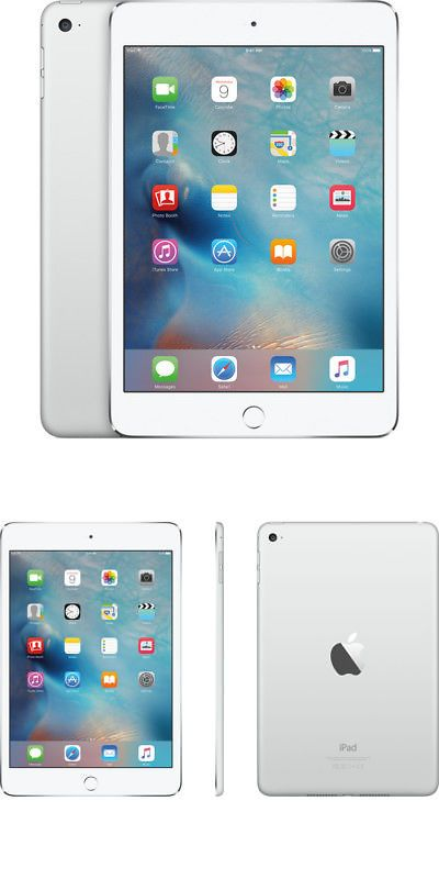 Tablets And Ebook Readers 171485 Apple Ipad Mini 4 128gb Silver Wi Fi Mk9p2ll A Buy It Now Only 322 99 On Ebay Tablets Ipad Apple Ipad Mini Apple Ipad