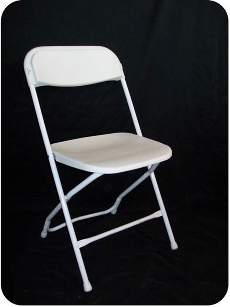 Peachy White Samsonite Style Plastic Metal Basic Folding Chairs Creativecarmelina Interior Chair Design Creativecarmelinacom