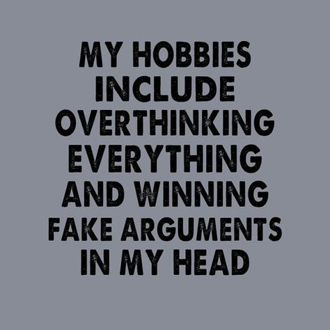 Funny Picture Of Overthinking