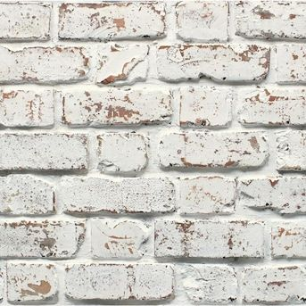 Fine Decor Medley 56 4 Sq Ft White Non Woven Abstract Unpasted Wallpaper Lowes Com Brick Effect Wallpaper White Brick Wallpaper Brick Wallpaper