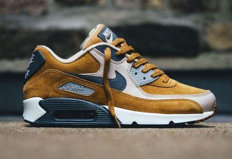 Nike Air Max 90 Premium Suede Desert Ochre (homme)   Nike