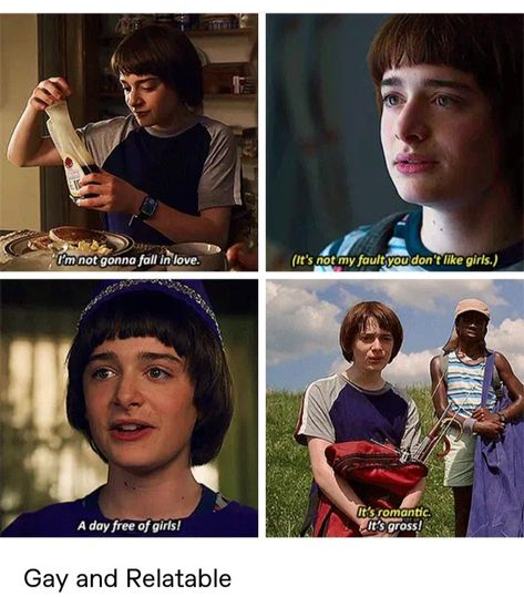 Will Byers is gay