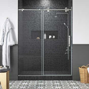 Ove Decors Orlando 60 Shower Door In 2020 Shower Doors Shower Cabin Glass Shower Doors