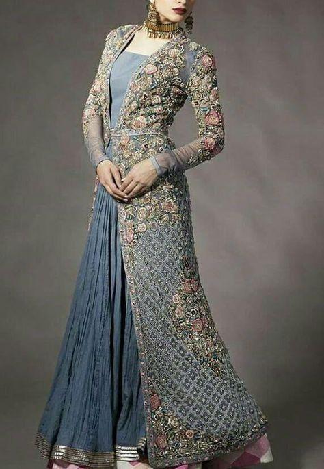 Pakistani Desinger Dress - Pakistani Asian Wedding Bridal Dress - Bridal Dresses on NameerabyFarooq