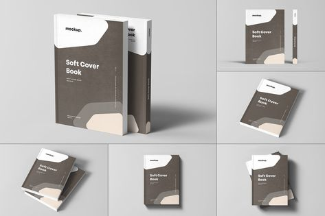 Soft Cover Book Mock-up by yogurt86 on Envato Elements