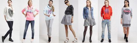 Modne ubrania z dresu