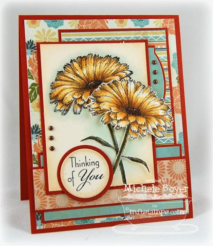 Inspired By Flowers #4 - Michele Boyer