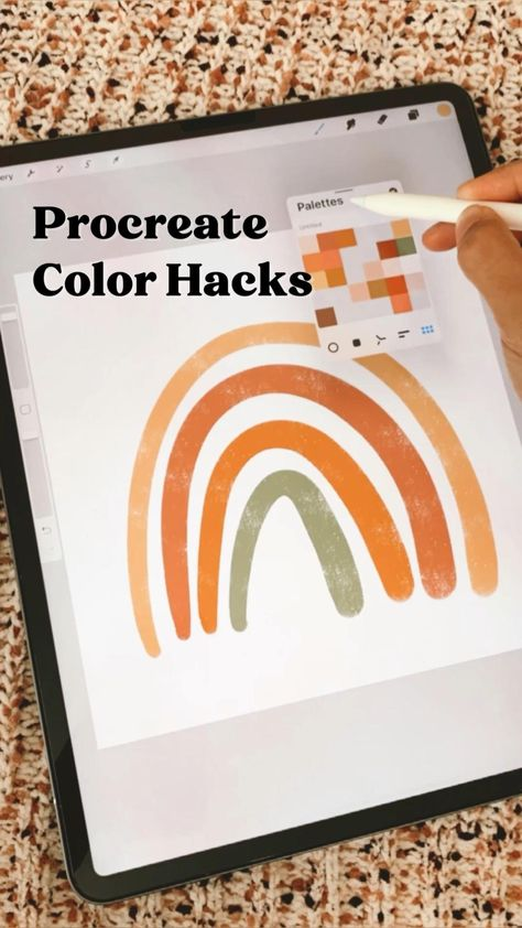 Procreate Color Hacks • Tips & Tricks