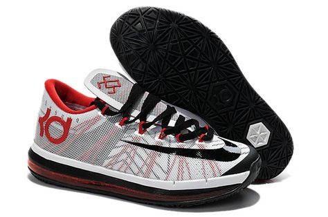 super popular cc694 ba93f discount nike kd nike kd 6 elite black white red d0ba2 e489f