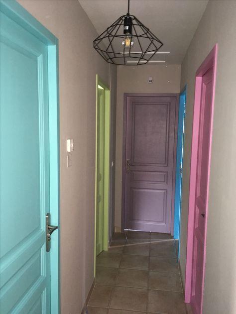 21 idées de couleur de peinture pour vos portes Painted doors - peindre un encadrement de porte