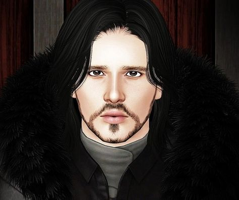 JON SNOW Game Of Thrones Part II by Natalie for Sims 3
