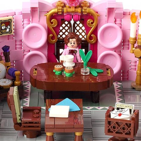Image May Contain 1 Person Lego Harry Potter Harry Potter Umbridge Legos