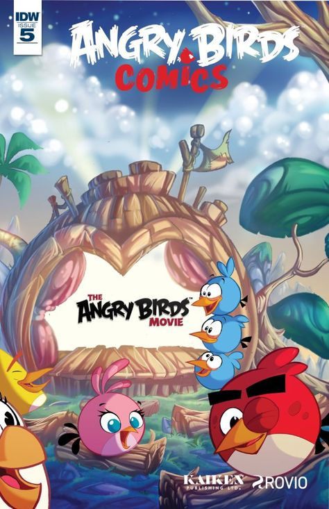 Angry Birds Comics (2016) #5 #IDW @idwpublishing #AngryBirds Release Date: 5/4/2016