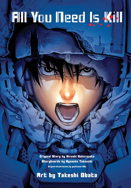 All You Need Is Kill Manga Omnibus With Images Graphic Novel