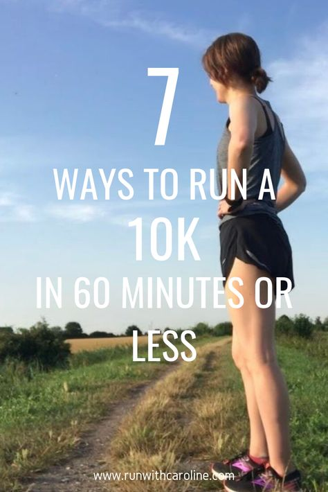 Running a 10k is no easy task. At 6.1 miles, it's quite a sizeable distance, and one that you have to put in a decent amount of training into, especially if you want to achieve a time of 60 minutes or less.